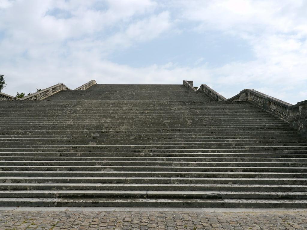 Les 100 marches de Versailles