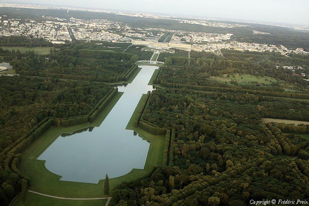 Faire du sport autour du grand canal de Versailles
